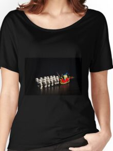 Darth Santa Women's Relaxed Fit T-Shirt