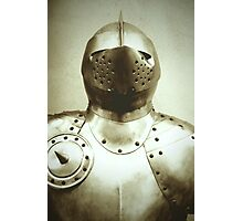 Knight Armour Photographic Print