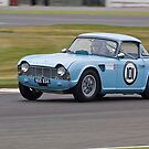 Triumph TR4 by Willie Jackson