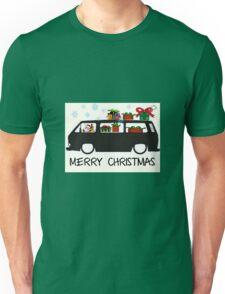 Santa drives a T25 Unisex T-Shirt