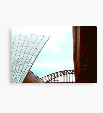Sydney Icons Canvas Print