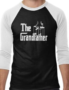 The Grandfather Gift For Grandad Fathers Men's Baseball ¾ T-Shirt