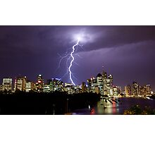 Summer Lightning Photographic Print