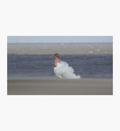 Runaway Bride.......  Photographic Print