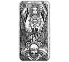 Our lady of misery  iPhone Case/Skin
