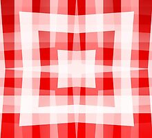 Red Square/Star Pattern (1 of 2, please see notes) by Ra12