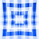 Blue Square/Star Pattern (1 of 2, please see notes) by Ra12