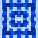 Blue Square/Star Pattern (2 of 2, please see notes) by Ra12