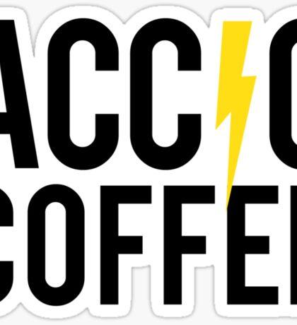 Accio Coffee Sticker
