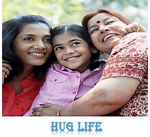 The Hug life Photographic Print