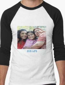 The Hug life Men's Baseball ¾ T-Shirt