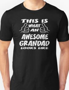 This Is What An Awesome Grandad Grandpa Gift T-Shirt