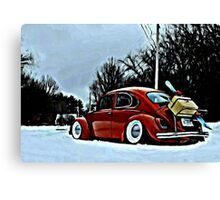 ski bug Canvas Print