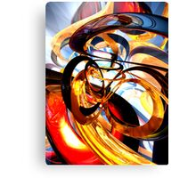 Color Revolution Abstract Canvas Print