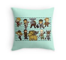 Dragon Age Inquisition Chibi Throw Pillow