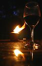 Wine at the Cottage by Debbie Pinard