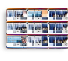 Little Boxes (with air con) Canvas Print