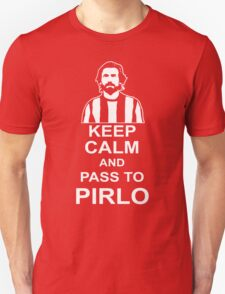 ANDREA PIRLO KEEP CALM Unisex T-Shirt