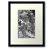 The Dwelling Framed Print