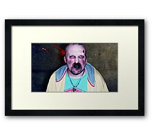The Father Of Zombies Framed Print