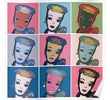 Warhol Barbie Poster