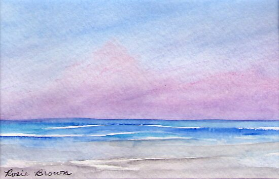 Florida Sunset II by Rosie Brown
