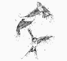 Swallows all inked up Unisex T-Shirt