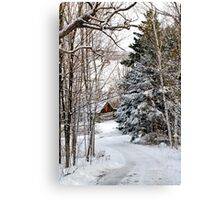 Road to the Cabin, Dunrobin Ontario Canvas Print