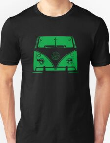 VW Kombi Green Design T-Shirt