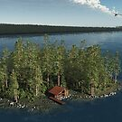Islet in the Baltic by Leoni Mullett