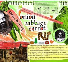 Onion, cabbage, carrot  by MissBehaving