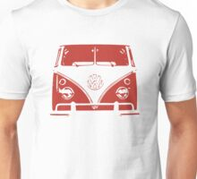 VW Kombi Red Design Unisex T-Shirt