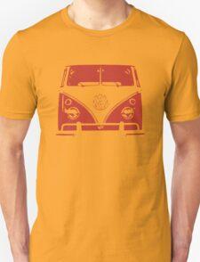 VW Kombi Red Design T-Shirt