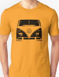 VW Kombi Black design T-Shirt