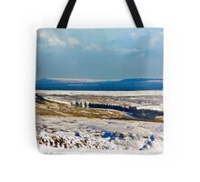 Winter on the North Yorks Moors Tote Bag