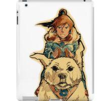 Korra and Naga iPad Case/Skin