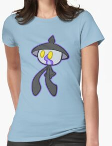 Cute Lampent Womens Fitted T-Shirt