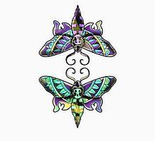 Reflected Moths Unisex T-Shirt