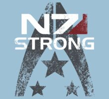 N7 Strong One Piece - Short Sleeve