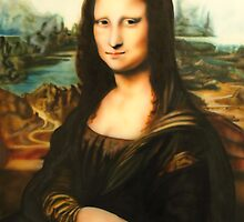 LISA'S A REAL MONA by carss66