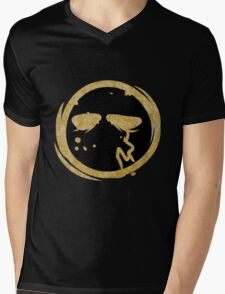 Funny Man Hollywood Undead Mens V-Neck T-Shirt