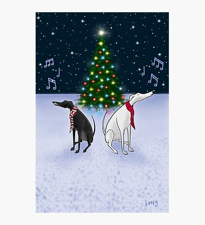 The Carol Hounds Photographic Print