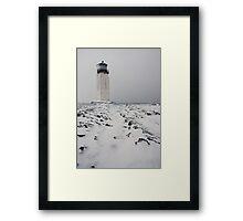 Southness Snowscape Framed Print