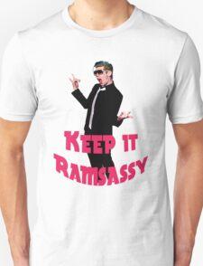 Keep It Ramsassy print T-Shirt