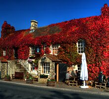 Crown Inn at Kelston nr Bath by Rob Hawkins