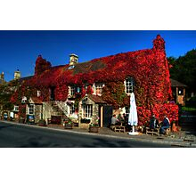 Crown Inn at Kelston nr Bath Photographic Print