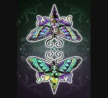 Reflected Moths (Full) Unisex T-Shirt