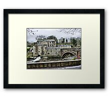 Yore  Mill . Framed Print