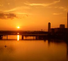 Lady Bird Lake Austin Texas by paul beck
