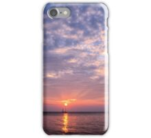 Classic Sailboat and Sunset iPhone Case/Skin